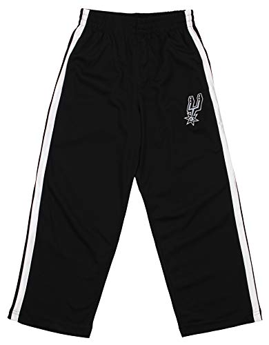 Outerstuff NBA Youth's Dribble Mesh Pants, San Antonio Spurs Large (10-12)
