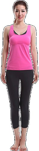 Zumeet Girls Yoga and Aerobic Fitness Suit Pink