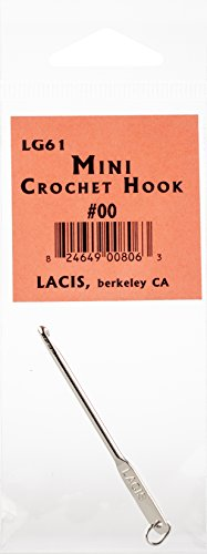 Lacis LG61-00 Mini Crochet Hook, Multicolor by Lacis (Image #1)