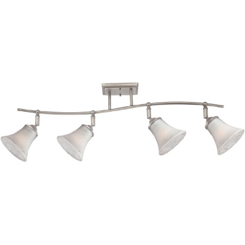Quoizel DH1404AN Duchess Adjustable Track Kits Lighting, 4-Light, 400 Watts, Antique Nickel (13