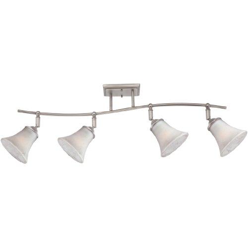 (Quoizel DH1404AN Duchess Adjustable Track Kits Lighting, 4-Light, 400 Watts, Antique Nickel (13