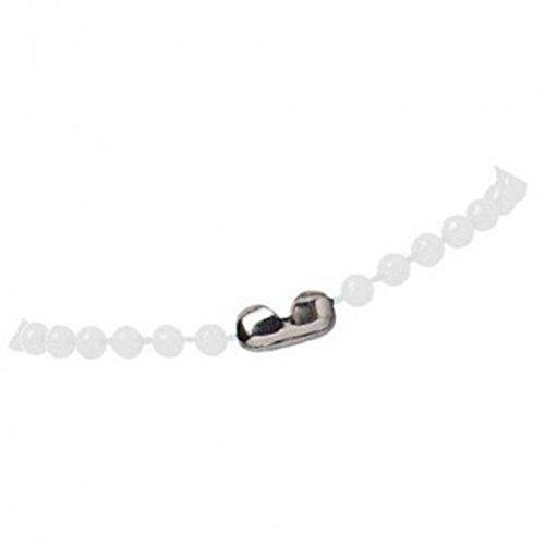 Plastic Neck Chains - White Colored Plastic 38