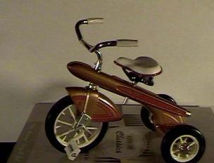 Hallmark Kiddie Car Classics Sidewalk Cruisers 1960 Murray Blaz O Jet Tricycle