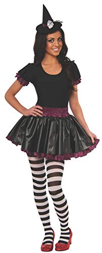 Rubie's Women's Wizard of Oz 75th Anniversary Young Adult Wicked Witch of The East Costume, Black/Red/White, Small (Glinda The Good Witch Of The East)