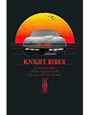 Knight Rider: Notebook Planner - 6x9 inch Daily Planner Journal, To Do List Notebook, Daily Organizer, 114 Pages