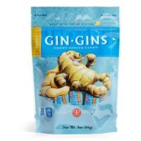 Gin Gins Peanut Chewy Ginger Candy 6Pk