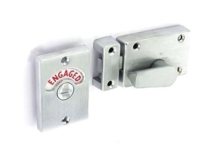 Awesome Securit Toilet Indicator Lock Bolt Engaged Vacant Amazon Com Interior Design Ideas Clesiryabchikinfo