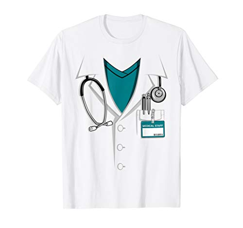 Doctor White Lab Coat | Halloween Costume T-shirt