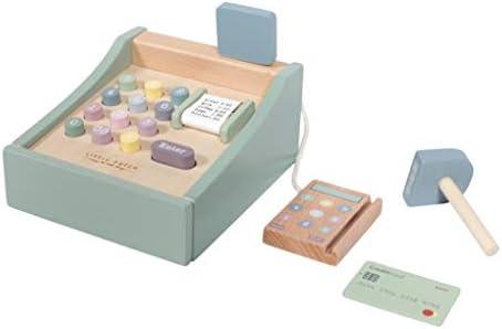 Little Dutch Caja registradora con escáner Menta: Amazon.es ...