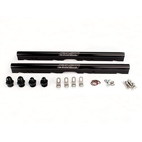 FAST 146032B-KIT Black Billet Fuel Rail Kit for LS1 and LS6 LSXr 102mm Intake Manifolds