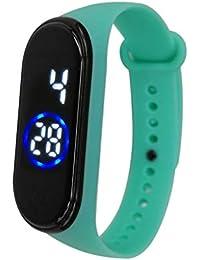 LED Sport Digital Wrist Watch 50M Waterproof for Kids Boys Girls Men Women Silicone Bracelet Watch Digital Sports Wrist