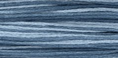 Weeks Dye Works Over-Dyed 6-Strand Embroidery Floss, 5 Yds: Union Blue