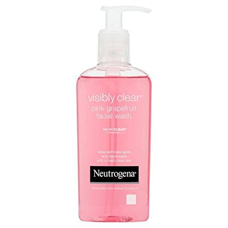 Neutrogena Visibly Clear Pink Grapefruit Facial Wash, 200ml by Amazon