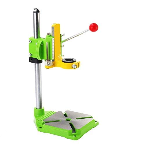 HUBEST Drill Press Rotary Tool Work station Drill Press Working Station for Drill Workbench Repair drill Press Table 90°Rotating Fixed Frame