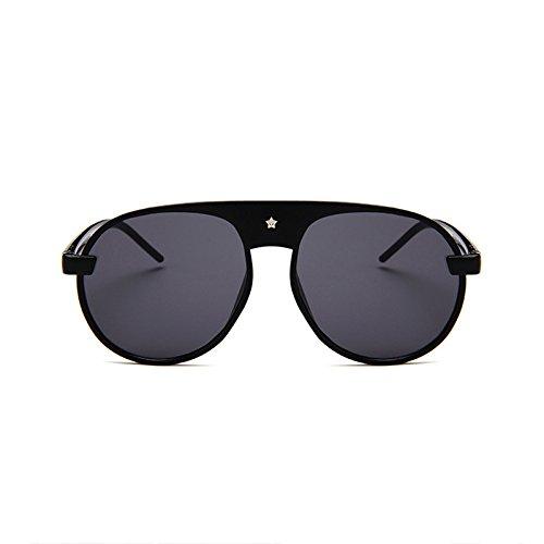 Gafas Sol para diseñador ZHANGYUSEN Mujer Gafas Sol Ronda Lujo Oval de E Damas Nueva Llegada de Espejo 2018 Marca de G rqZPq7X