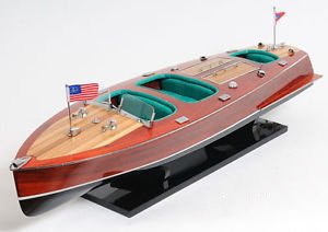 1938 Chris Craft Triple Cockpit Wooden Model 32