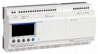 SCHNEIDER ELECTRIC Zelio Sr3 16 I-O 12-Vdc Relay Out SR3B261JD O 12Vdc