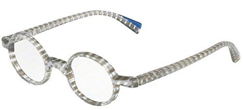 Alain Mikli 0A03085 STRIPED GREY 42/22/145 women eyewear frame by Alain Mikli