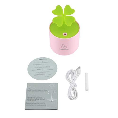 Mini Portable Humidifier Four Leaves Clover Mist Maker Air Purifier