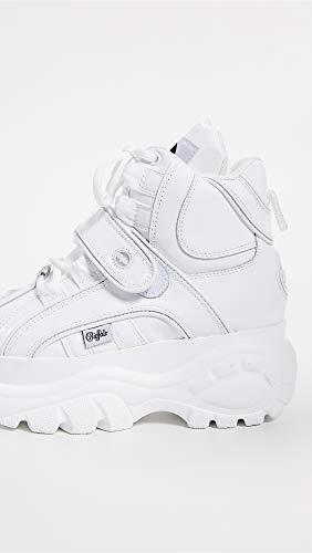 Buffalo 14 Eu Donna 2 Patent 0 1348 Leather White 39 Stivali ZwprEqZv