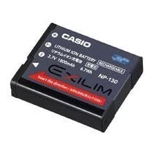 Casio NP-130 Rechargeable Lithium-Ion Battery for Digital Cameras