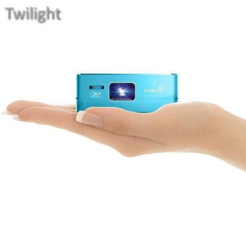 Ivation Pro3 Portable Rechargeable Smart DLP Projector (Blue) (Ivation Projector)