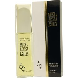 Alyssa Ashley Musk by Houbigant Eau De Toilette Spray 3.4 oz for Women
