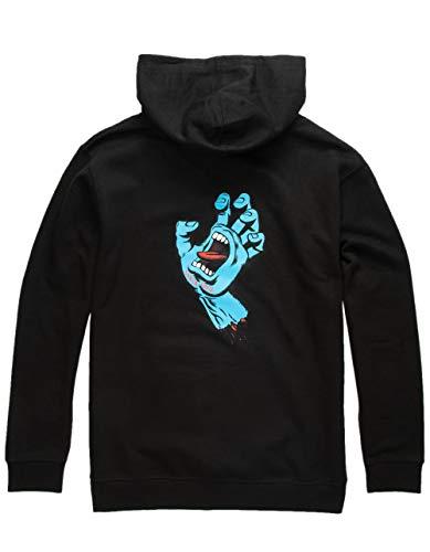 Santa Cruz Big Boys' Screaming Hand Hoody,Large,Black (Boys Skateboard Hoodie)