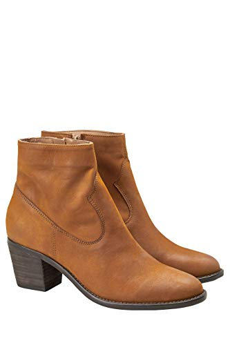 Next pelle Stivaletti Woman stile in marrone western xUdHd8w