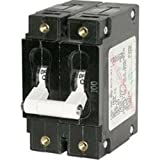 Blue Sea 7258 C-Series Double Pole Circuit Breaker - 100A