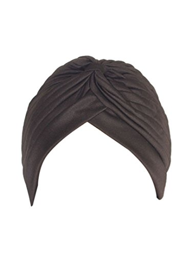Choies Womens Pleated Bonnet Turban