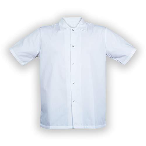 Cook Shirt Short Sleeves (Large) - Shirt Poplin Cook