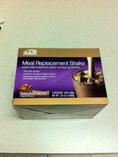 Remplacement Advocare repas Shakes - Boîte de 14 sachets simples Servir, 2,08 oz chacun, (chocolat moka Flavor)