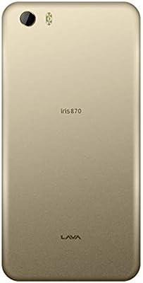 Lava Iris 870 Dual SIM - 8GB, 2GB RAM, 4G LTE, Gold: Amazon