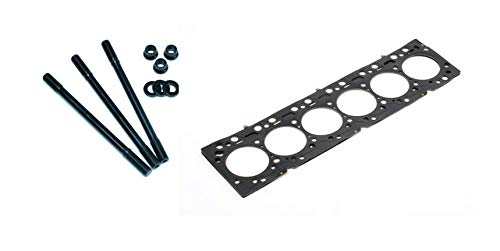 ARP Head Studs & Cometic MLS Head Gasket Set 87mm Bore .051'' Thick For 1993-1998 Toyota Supra Twin Turbo TT 3.0L 2JZ-GTE Engine - Bundle