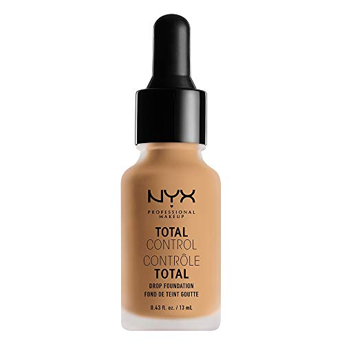 (Nyx Professional Makeup Total Control Drop Foundation, True Beige, 0.43 Fluid Ounce )
