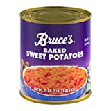 Bruce's Baked Sweet Potatoes 29oz Can (Pack of 4)