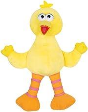 Sambro SST-8491-5 Sesame_Street Big Bird Pluche, Veelkleurig, 25 cm