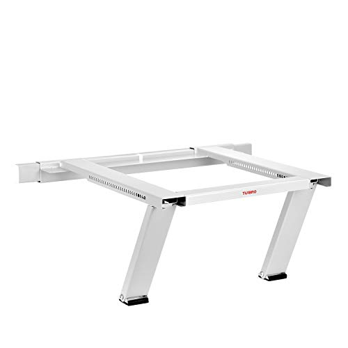 TURBRO Window Air Conditioner Support Bracket No Drilling, Heavy Duty Up to 200 lbs, Fits Single or Double Hung Windows, White