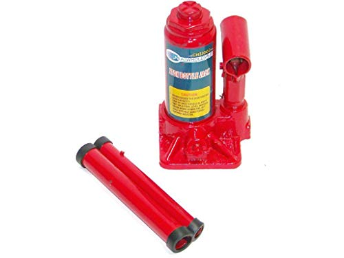 2 Ton Bottle Jack Heavy Duty Steel Xtra Low Profile Repair Cars Triple Hand Lift Jack Rapid Pump Hydraulic Jack Quick Easy Lift