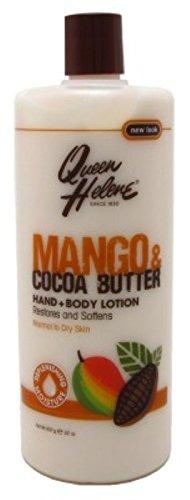 Queen Helene Lotion 32 Ounce Mango & Cocoa Butter Hand & Bod
