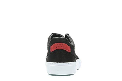 Clarks Laika Run, Sneaker uomo nero nero
