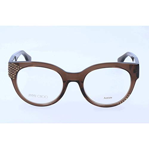 Jimmy Choo - JIMMY CHOO 136, Cat Eye, acetate, women, TRANSPARENT BROWN(3M0), ()