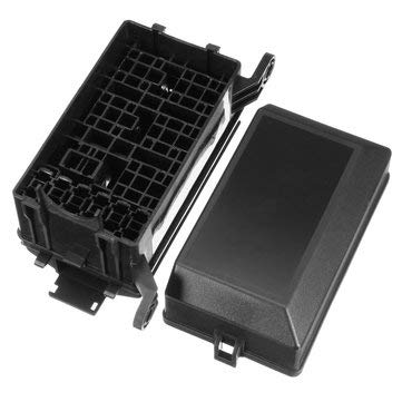 Fuse Relay Box - Relay Fuse Holder - Universal Auto Car Fuse 6 Relay Socket Holder Insurance Box 6 ATC/ATO (Car Relay Fuse)]()
