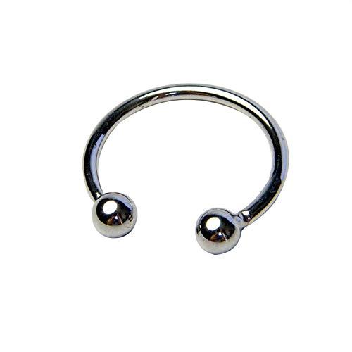 VBHVY T-SHIRT Adūlt Sexwo Toys for Male Lock Glan Stimulating C-ōck Ring Érection Enhancement S Stainlešs Steel Pênǐs Ring Sexwo Toys for Men Chá-štity C-ōck Càges Dēvicē,šilver ()