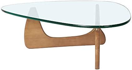 Wood Triangle Coffee Table