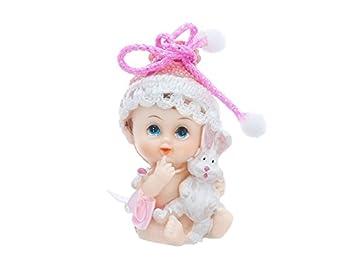 Tortenfigur Baby Mit Kuscheltier Tortendeko