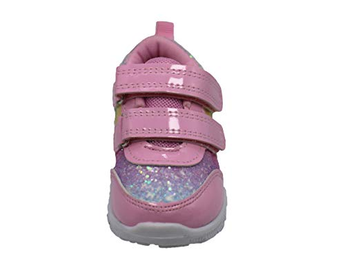 Gerber Two Strap Jogger Sneaker Shoes for Toddler Girls Light Weight, Casual Walking and Running Shoes