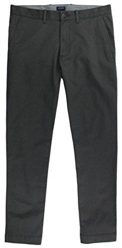 J. Crew - Men's - Flex Slim-fit Driggs Chino (34W x 32L, Coal Grey) from J.Crew Mercantile
