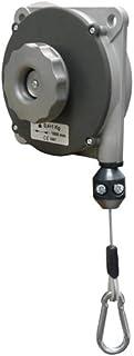 PLANETA G30125 Federzug mit Aluminium-Druckguss-Gehäuse, Typ 635, Tragfähigkeit 6.0-8.0 kg, Seillänge 2.5 m, Stahldrahtseil Durchmesser 2.5 mm